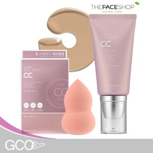 [ ザフェイスショップ] THE FACE SHOP 24HR Full Stay CC - tube type / 24HRフル滞在CC(SPF50 / PA +++)/ ★2016 NEW...
