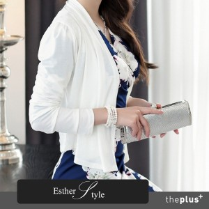 [Esther Style] TRIA cardigan/ premium jacket / color blouse / made in korea