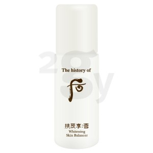 [The history of whoo・后] 拱辰享 雪 Whitening 水液(スキン) 5.5mlx12ea