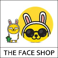 [THEFACESHOP] ★ Sale 40% ★ [Kakao Friends] Natural Sun Eco Baby Sun Cushion 15g [Muzi] / Baby Sun...
