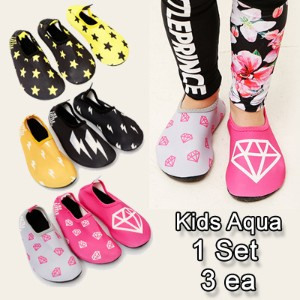 [HowRU] ★ Kids Aqua Shoes ★ 2016 S/S New Swimming Sports Shoes / Korea Kid Top Brand / Korean Cute...