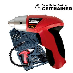 [GEITHAINER] Electric Cordless Screwdriver /Electric Cordless Power Drill ★Germany luxury ★ Charge...