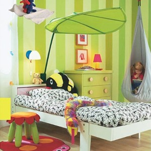 MARKETB LOVA Bed Canopy Green/Baby/Kids/Children Canopies/Kids Room Decorating/Kids space/Playground...