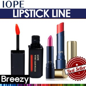 BREEZY ★ [IOPE] Water Fit Lipstick / Jeon Ji-hyun Lipstick / Color Fit Lipstick / Tinted Liquid...