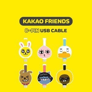kakao friends Apple 8pin USB data cable iphone cable