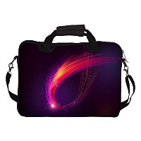 (Snoogg) Snoogg 15 15.4 Inch Laptop Notebook Computer Netbook Soft Shoulder Bag With Strap Case...