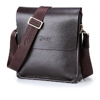 (Zicac) Zicac Mens Leather Messenger Bag Laptop Case Shoulder Bag Handbags Briefcase