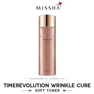 ★MISSHA★TimeRevolution Wrinkle Cure Soft Toner