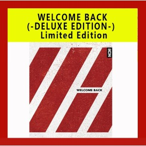 WELCOME BACK(2CD+2DVD)(-DELUXE EDITION-) CD+DVD Limited Edition DVD-BOX 4枚組 日本版