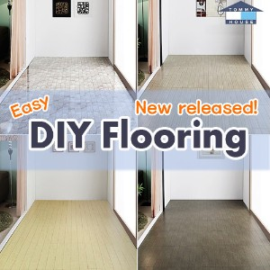 ★Launching Event★ DIY Self-Assemble Floor Deck Tile / 12 designs / Simply Install The Product by...