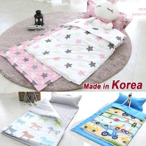 ★Nap Bedding Set★for Kids/Children Toddler★28 kinds Color★Quilts + Pillow + Pad /Separate zipper...