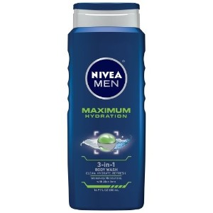 [アメリカ直送]NIVEA Men Maximum Hydration 3-in-1 Body Wash 16.9 Ounce (2015-04-24)