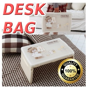 [MADE IN KOREA] Portable Children desk Bag /Folding desk/ Study table /Kids desk/ Newly Added ...