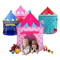 ★Christmas Gift Idea★ Magic Castle Kids Play Tent - Indoor and Outdoor Use/Lightweight Portable...
