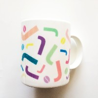 K-POP Idol Star JYJ Kim Jae Joong Cafe J-Holic Official Pastel J Mug