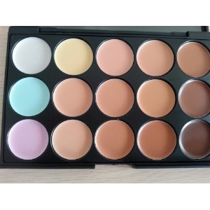 [アメリカ直送]Palette 15 Colors Makeup Contour Concealer Face Powder Shading Powder