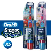 ★ORAL-B★Kids toothbrush/Electric Toothbrush Stages Power/ Disney Cars Princess / Whitening / Refill...