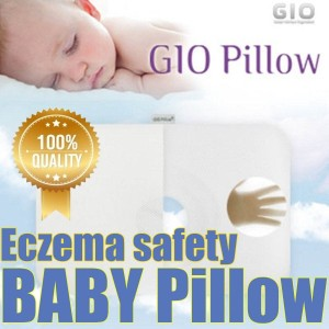 GIO Pillow for Babies Brain /deep sleeping and Head Shape Baby Funtional Pillows Eczema