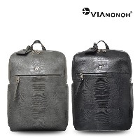 [VIAMONOH] LIZARD BASIC SQUARE BACKPACK (VAEF-2019)