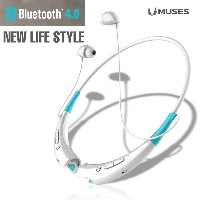 MUSES BTH-840 Bluetooth 4.0 Stereo Headset Neck Band Earphone/Call And Music/New Wireless Sport...
