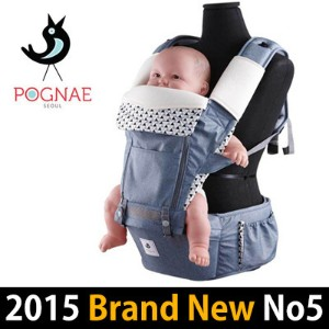[2016 BRAND NEW]POGNAE Hipseat Carrier/Made in Korea/Baby Carrier Hipseat/Baby Carrier Hipseat...