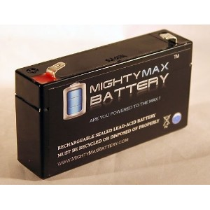 [アメリカ直送]6V 1.3Ah Fire Lite 6100 Alarm Replacement Battery