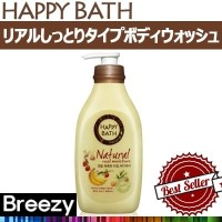 BREEZY ★ [Happy Bath] Natural Real Body Wash Line / Fresh Body Wash 900ml / Mild Body Wash 900ml /...