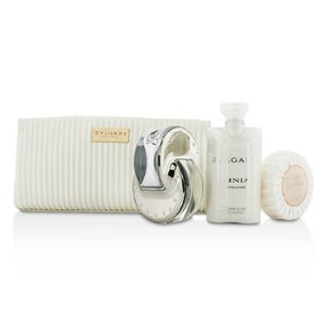 ブルガリ Omnia Crystalline Coffret: Eau De Toilette Spray 65ml/2.2oz + Soap 75g/2.6oz + Body Lotion...