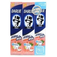 Darlie All Shiny White Apple Mint Toothpaste 1 Pack Total 410g Free Shipping Personal Tooth Teeth...