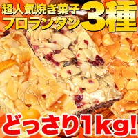 【訳あり】新フロランタン3種どっさり1kg(プードル・オレンジ・ショコラ)【送料無料 ギフト 訳あり 訳アリ ネット限定 生地 誕生日 カタログギフト 人気 詰め合わせ 詰合せ ギフト 子ども 子供...