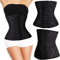 Women s Latex Trainer Waist Cincher Breathable Shapewear Slimming Tummy  Body Shaper Girdle Fat...