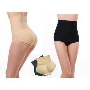 New Sexy Women s Invisible Non-trace High Waist Butt Booster Enhancer Padded Panty