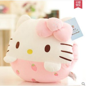 Hellokitty hand warmer pillow doll doll hands with the Doraemon lunch pillow Christmas Gift Girl