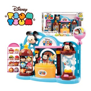 DISNEY TSUM TSUM Collection Play Set Toy / Tsum Tsum Collection Display Case / Micky&Alice are...