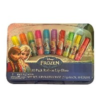 Disney Frozen 10 Pack of Roll-on Lip Gloss