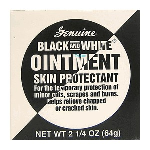 Black and White Ointment 2.25 oz