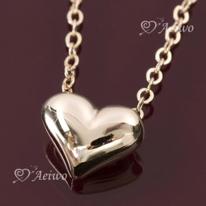 chachacha~ 18K Gold dipped Heart Necklace - Daily Item -