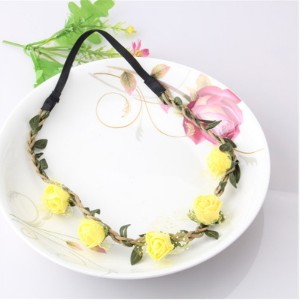 New Fashion Hot Children Kids Baby Girls Flowers Headband Floral Headwear Hair Band Head Piece