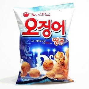 Squid/ Peanut Snack 98g Pack of 3
