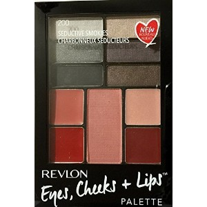 Revlon Eyes Cheeks & Lips Palette 200 Seductive Smokies