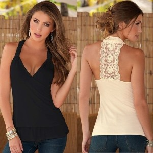 New Summer Fashion Sleeveless Sexy Tank T-Shirt Blouse Top Vest