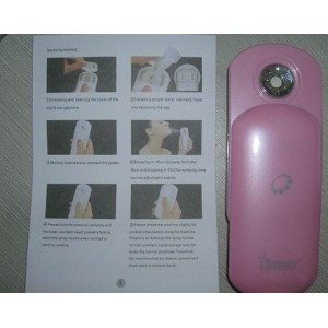 Individual facial beauty instrument Nano spray cold water spray humidifier machine ibeauty white...