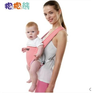 Baby Bear Simple baby sling / backpack / hold with / hold towel breathable summer paragraph sling...