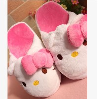 Hello Kitty butterfly knot Home Furnishing floor slippers