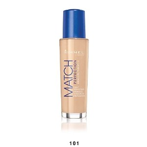 Rimmel Match Perfection Foundation Classic Ivory 1 Fluid Ounce