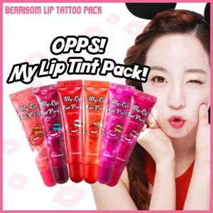 [BERRISOM]OOPS MY LIP TINT PACK! / NON-ERASING 12 HOURS LIP TATTO PACK!! 8 KINDS OF COLORS!!