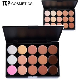 HOT! Professional 15 Colors Contour Face Cream Camouflage Make Up Concealer Palette/High Quality