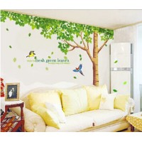 Forest green shade of large living room dining room den aisle removable wall stickers wall stickers...