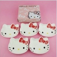 hello kitty cute cartoon ceramic dishes and creative kitchenware high quality spices dish
