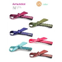 [hpaz313] aznavour color ribbon clip hairpin (15color)